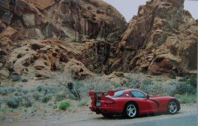 Valley of Fire State Park, Nevada on a poker run in a Viper...along with about 300 more. Stellar