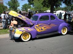 Can't beat a purple car.